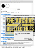 archive of deleted files
